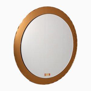 Runder Spiegel im konischen Stil von Max Ingrand für Planilux