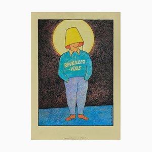 Póster Wake Up (Aids) de Glen Baxter