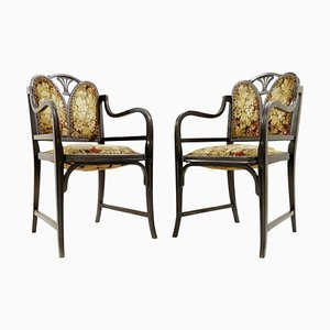 Bentwood Armchairs from Thonet, Austria, 1900s, Set of 2