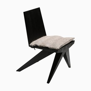 Black Dining Chair by Arno Declercq for Cor