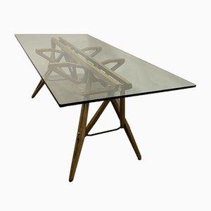Vintage Esstisch von Carlo Mollino für Zanotta