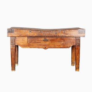 Antique Butcher's Table
