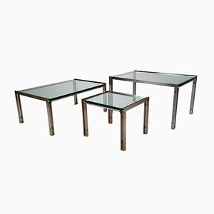 M1 Side Tables by Hank Kwint for Metaform, 1980s, Set of 3
