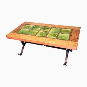 Vintage Dutch Rustic Tile Coffee Table