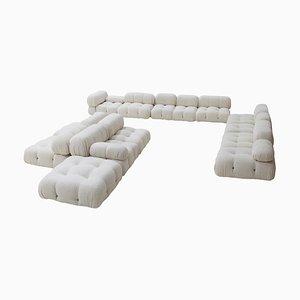 Mid-Century Modular Camaleonda Sofa by Mario Bellini for B&B Italia, Set of 14