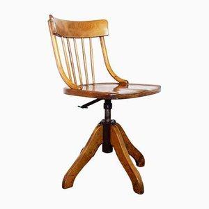 Vintage Swiss Desk Chair from Horgen Glarus