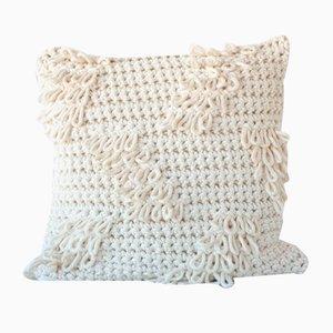 Coussin Natural Textures from the Loom par Com Raiz