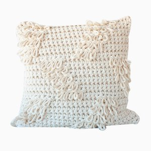 Natural Textures from the Loom Pillow by Com Raiz