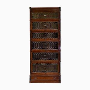 Mahogany 6-Piece Bookcase from Globe Wernicke