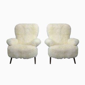 Modell 105 Sessel von Theo Ruth für Artifort, 1950er, 2er Set
