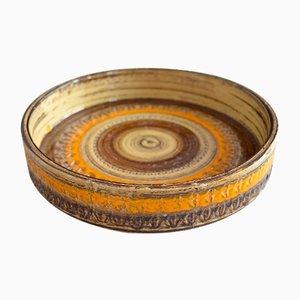 Ceramic Bowl by Aldo Londi for Bitossi, 1960s