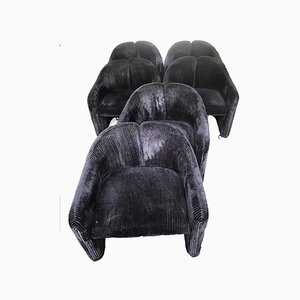 PS 142 Armchairs by Eugenio Gerli for Tecno, Set of 6