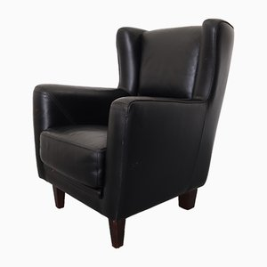 Italian Bergere Lounge Chair by P. Baxter for Baxter