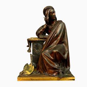 Napoleon III Double Patinated Bronze