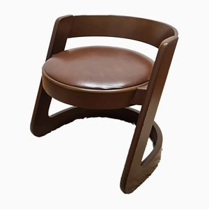 Vintage Stool from Mario Sabot, Italy, 1970s