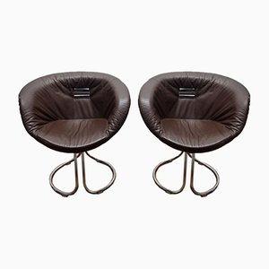 Pan Am Chairs by Gastone Rinaldi for Rima, Italy, 1970s, Set of 2