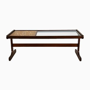 Glass & Tiled Top Coffee Table from G Plan, 1960s