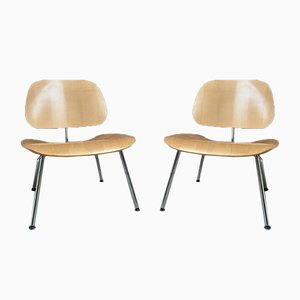 Mid-Century LCM Lounge Chairs by Charles & Ray Eames for Vitra, Set of 2