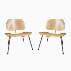 Mid-Century LCM Sessel von Charles & Ray Eames für Vitra, 2er Set