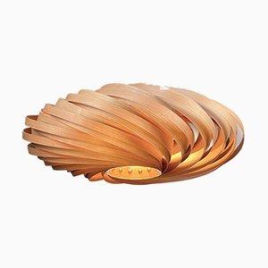 Veneria Deckenlampe aus Kirschholz von Manuel Döpper für Gofurnit
