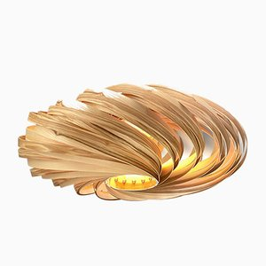 Veneria Deckenlampe in Olivgrün von Manuel Döpper für Gofurnit