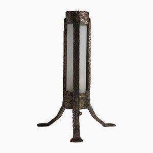 Wrought Iron Lamp, 1940s