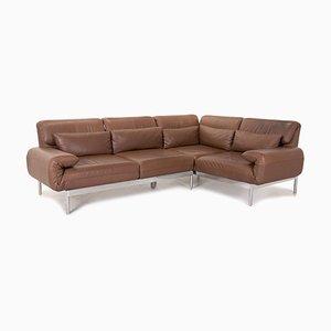 Plura Leather Corner Sofa by Rolf Benz