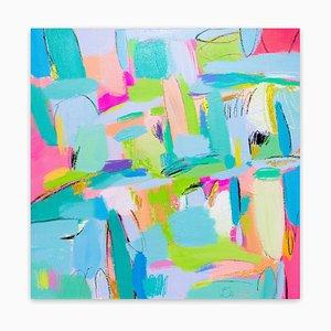Summer Samba, Abstract Painting, 2020