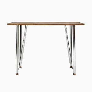 Teak Desk by Arne Jacobsen for Fritz Hansen