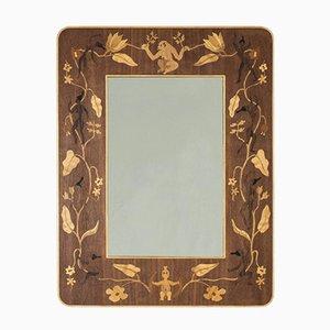 Adoration Spiegel von G. Gewall für Bohus Intarsia