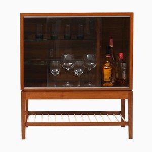 Danish Bar Cabinet in Teak and Walnut, Early 1950s