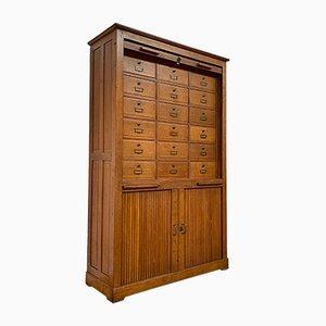 Oak Notary Cabinet