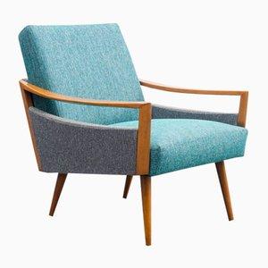 Buchenholz Streamline Sessel, 1950er