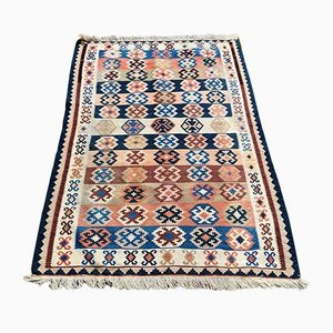 Hand Knotted Kilim Rug, Mid-20th Century