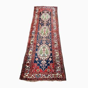 Vintage Caucasian Hand-Knotted Carpet