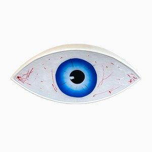 Italienische Le Temoin Eye Sculpture Bank von Man Ray für Studio Simon, 1971