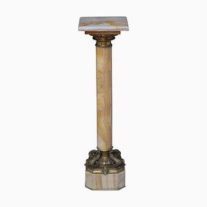 19th Century Onyx Column