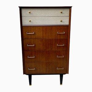 Vintage Bedroom Tallboy Chest of Drawers