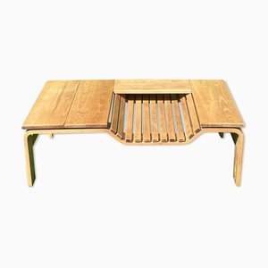 Mid-Century Dutch Coffee Table or Bench Attributed to Jindrich Halabala for Pastoe