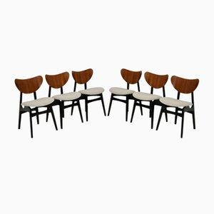 Vintage Butterfly Esszimmerstühle von G-Plan, 6er Set