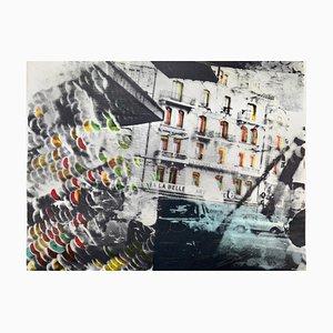 Sigmar Polke, Häuserfront, handsigniert, Limitierte Auflage