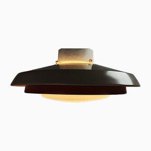 Mid-Century Deckenlampe aus Opalglas von Philips, 1960er
