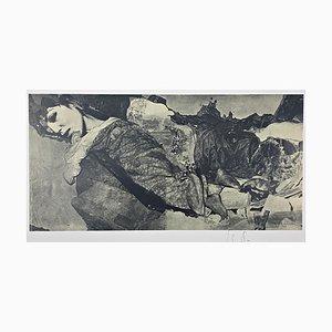 Sarah Schumann, Farboffset ohne Titel, handsigniert