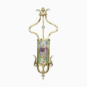 Jugendstil Pendant Lamp, Vienna, 1900s,