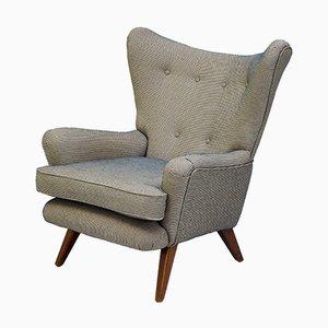 Large Mid-Century Wingback Armchair