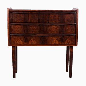 Small Mid-Century Danish Rosewood Dresser, 1960s