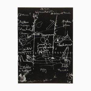 Joseph Beuys, Tafel I, II & III, Handsignierte Komplette Serie, Limitierte Griffelkunst Edition, 3er Set