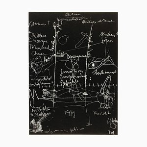 Joseph Beuys, Tafel I, II & III, serie completa firmata a mano, edizione limitata di Griffelkunst, set di 3
