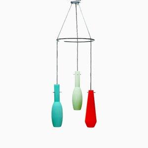 Murano Glass Ceiling Lamp, 1950s
