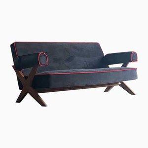 Pj-010806 Easy Lounge Sofa by Pierre Jeanneret,1958s